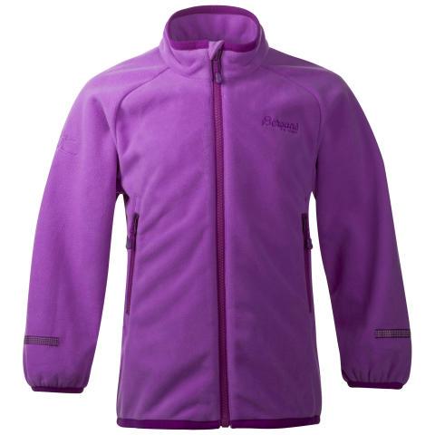 Treungen Kids Jacket - Heather Purple/Dark Heather