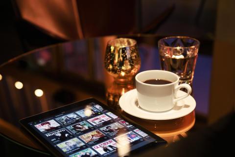 Scandic tarjoaa sähköisen lukuelämyksen kaikille hotellivierailleen