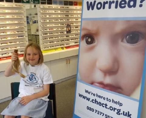 ​Fundraisers at Vision Express Portsmouth set to donate almost 4,000 to child eye cancer charity