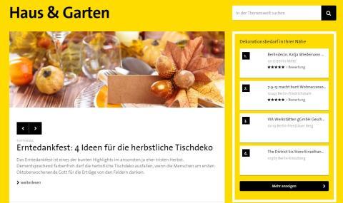 """Neuer Anstrich für """"Gesünder leben"""" und """"Haus & Garten"""""""