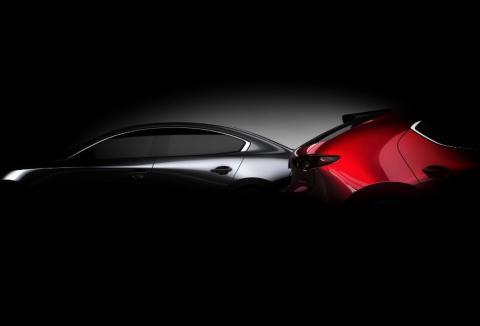 Mazda3 teaser