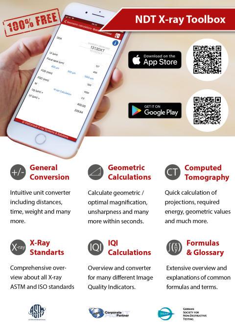 VisiConsult entwickelt kostenlose NDT App mit umfangreichen Funktionen