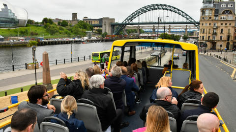 NewastleGateshead Toon Tour at Newcastle Quayside