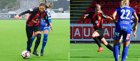 Eldina Ahmic och Emma Lundh förlänger med BP