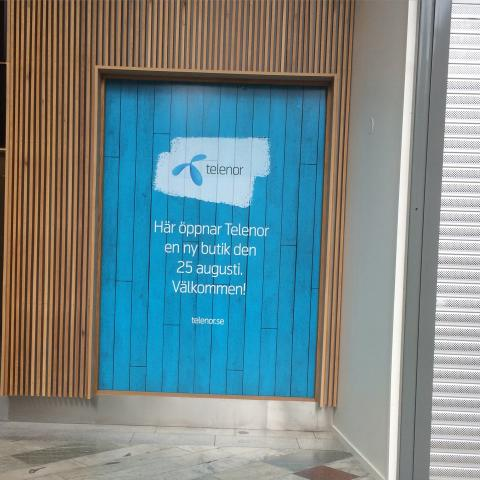 Telenor öppnar butik i Haninge Centrum