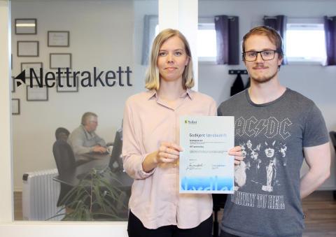 Nettrakett som ny lærebedrift i Bø