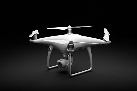 DJI Phantom 4 Advanced (B tilt)