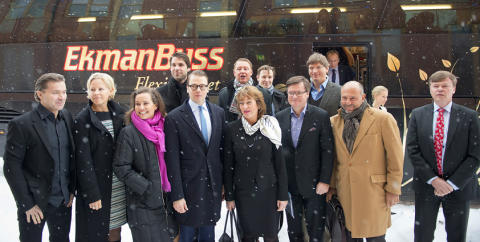 Prins Daniel Fellowship-programmet lanserat på Carlforsskas Ekonomi- och Handelsskola