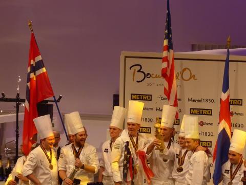 Sieger unter sich: USA, Norwegen, Island sind die besten Kochnationen 2017