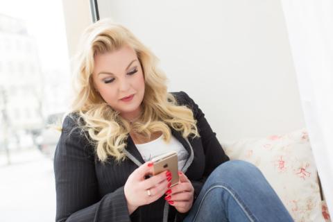 Flera rekord krossade av kvinnlig entreprenör på FundedByMe