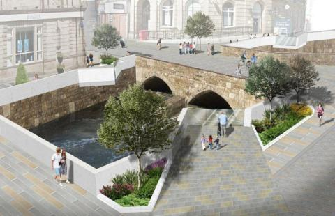 Winning Design Proposal selected for Rochdale Town Centre