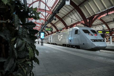 X 2000 på Malmö C
