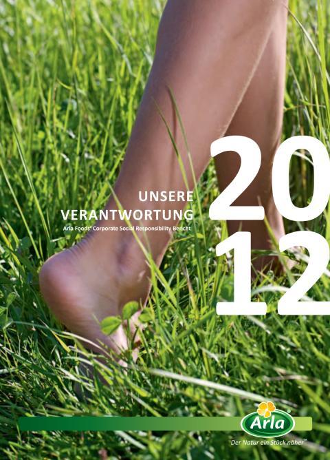 Arla Foods Nachhaltigkeitsbericht 2012