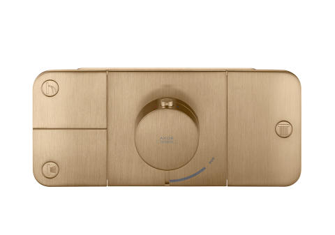 Axor One_Thermostat_Brushed_Bronze