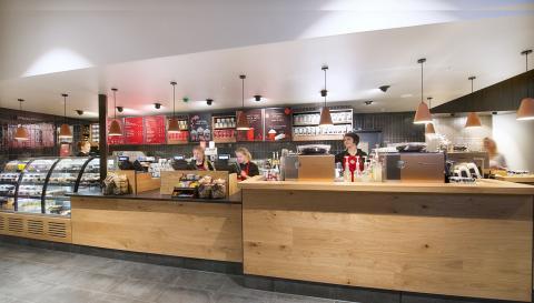 Idag öppnar Starbucks för första gången i Stockholm city