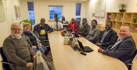 Burkina Faso delegation