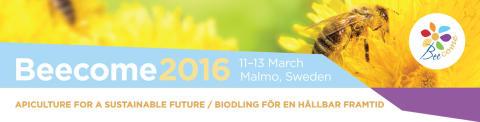 Beecome 2016 - biodling för en hållbar framtid