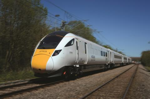 New Hitachi trains pass Department for Transport digital tests