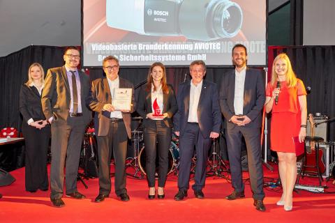 Preisverleihung 'Brandschutz des Jahres' 2017 - Gewinner Kategorie 'Anlagentechnischer Brandschutz'