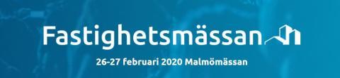 Kontek ställer ut på Fastighetsmässan i Malmö!