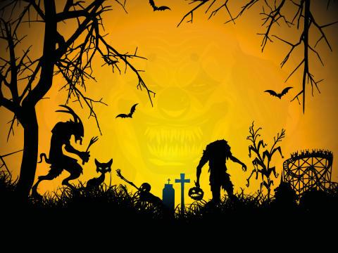 Höstfest och Halloween på Bakken