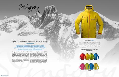 Produktinfo – Bergans nye Slingsby-serie