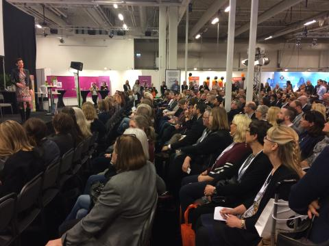 Full aktivitet på Kistamässan när 5 836 personer kompetensutvecklades