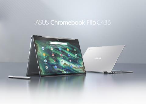 ASUS lanserar Chromebook Flip C436 i Sverige