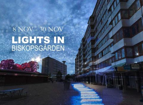 Lights in Biskopsgården- Pressinbjudan till workshop imorgon tisdag 25 september