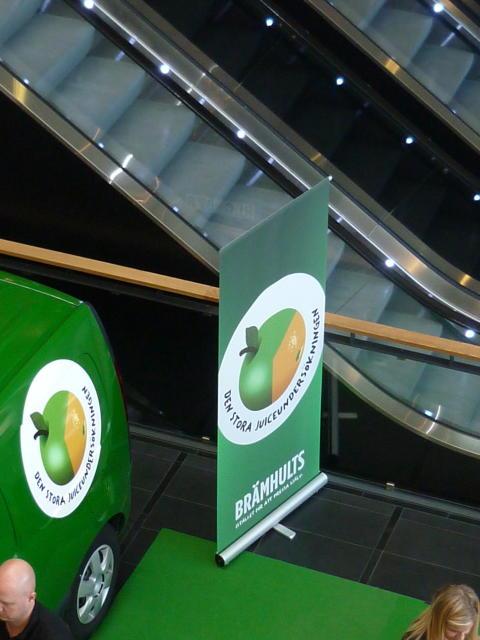Brämhults monter på utställningsyta på Entré Malmö.