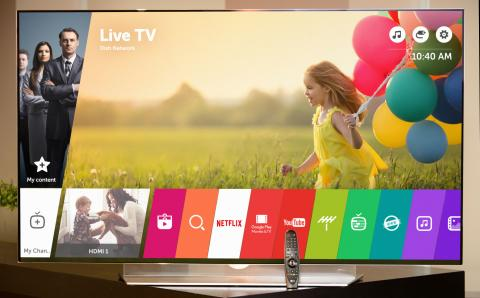 LG INTRODUCERAR NY VERSION AV HYLLADE SMART-TV-PLATTFORMEN WEBOS UNDER CES 2016