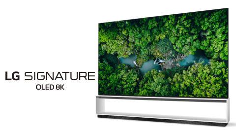 LG visar upp nya tv-modeller med äkta 8K och nästa generations AI-processor under CES 2020