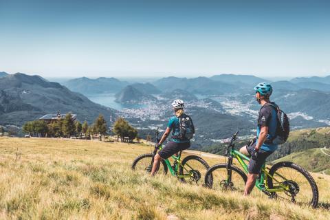 Lugano Bike: Mountainbiketour rund um Lugano