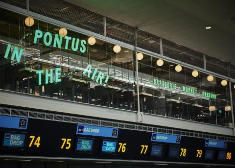 Stockholm Arlanda welcomes Pontus in the Air