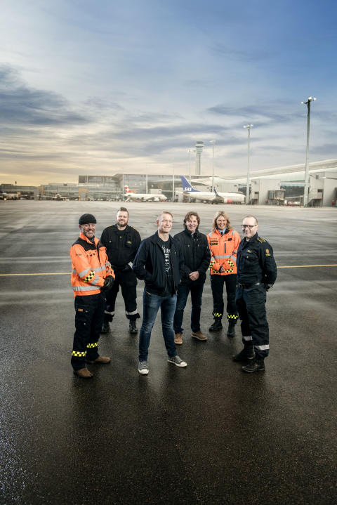 OSL 24-7 - Gruppebilde hoyde 01-  Kjell Are, Tor-Inge, FO, Roar, Kari, Runar- foto Vegard Breie