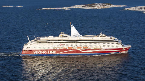 Viking Line sätter segel på Viking Grace