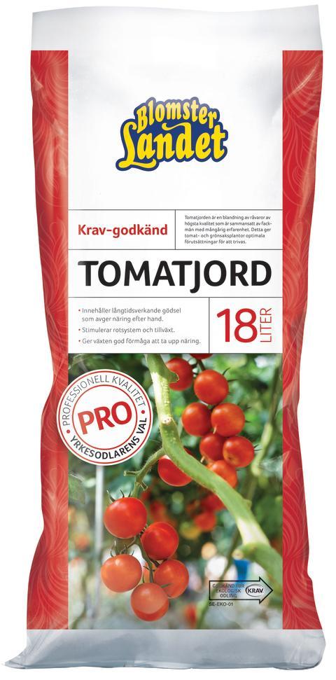 Tomatjord -  specialjord för grönsaksodlingen