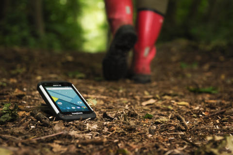 NAUTIZ X9, den ultra-ruggade Android-handdatorn för utomhusbruk