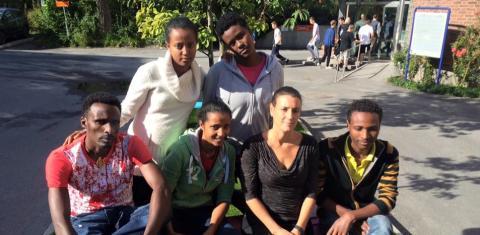 Drottning Blanka-elever till Etiopien på utbytesresa