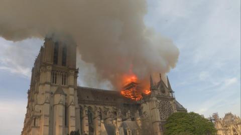 Notre Dame i brand