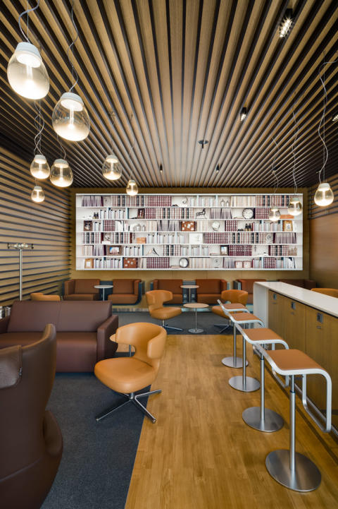 Lufthansa Lounge Malpensa