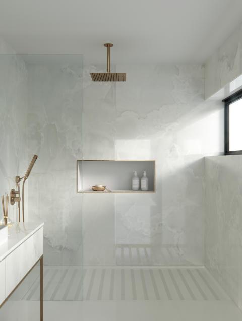 Dekton Bathroom - Helena