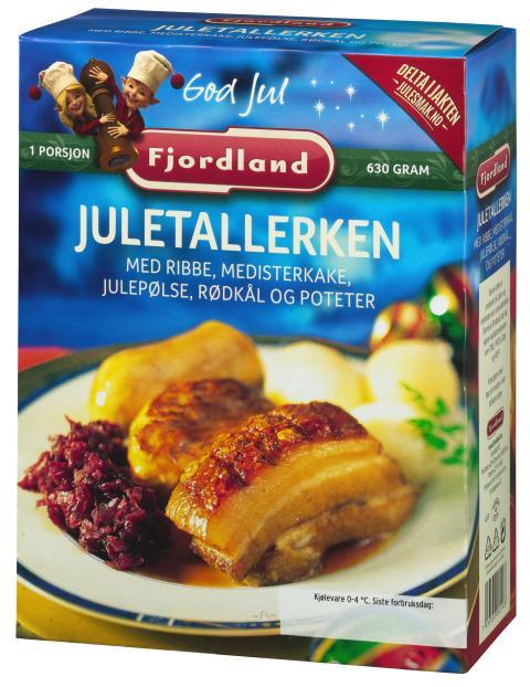 Fjordland juletallerken