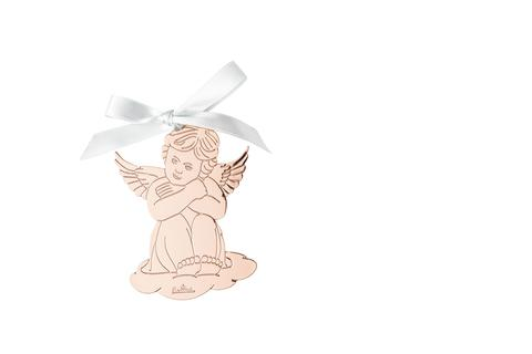 R_Silver_Collection_Angel_Rose_Gold_sitting_8,5x6_cm