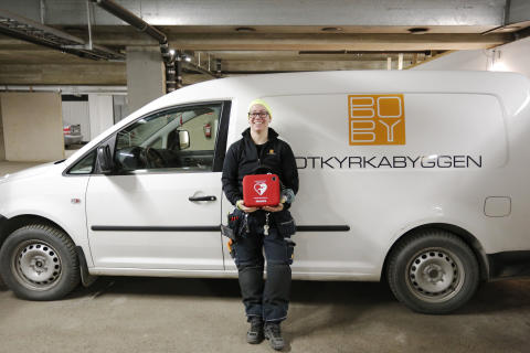 Botkyrkabyggens personal beredda att rädda liv