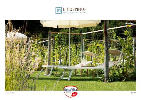 DolceVita Hotel Lindenhof Naturns - Hotelkatalog 2017
