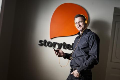 Storytels vd, Jonas Tellander