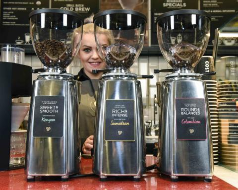 Costa serves single origin blends at new concept store in Wandsworth