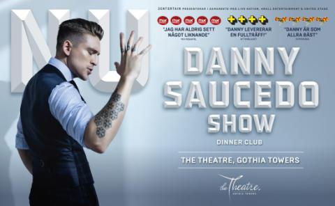 "Danny Saucedos succéshow ""NU"" till Göteborg och The Theatre, Gothia Towers i vår."