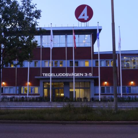 TV4 huset med SKY bild 1